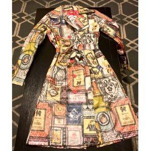 {Oilily} vintage soapbox raincoat